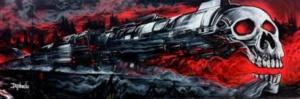 přepadení ve vlaku