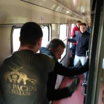 teroristický útok ve vlaku