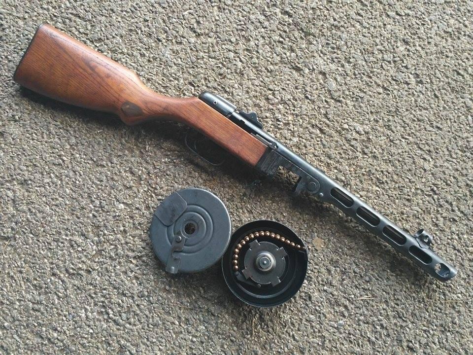 PPS 41 (Spagin, пистолет-пулемёт Шпагина)